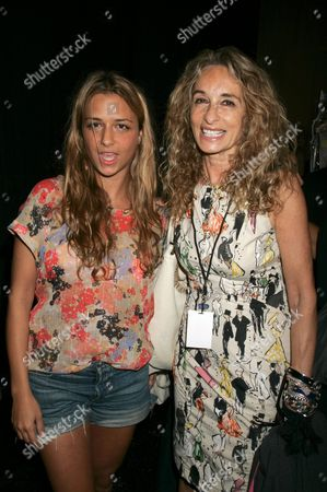 Charlotte Ronson and mom Anne Dexter Jones