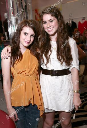 Emma Roberts, Emily McEnroe (John McEnroe's daughter)