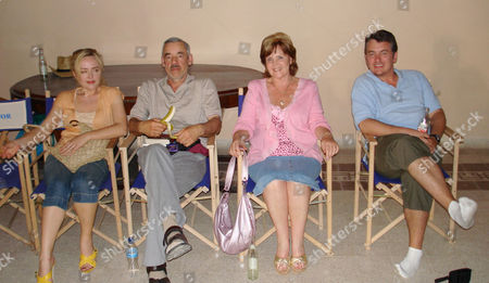 'What We Did On Our Holiday'   TV Angeline Ball, Roger Lloyd Pack, Pauline Collins and Shane Richie