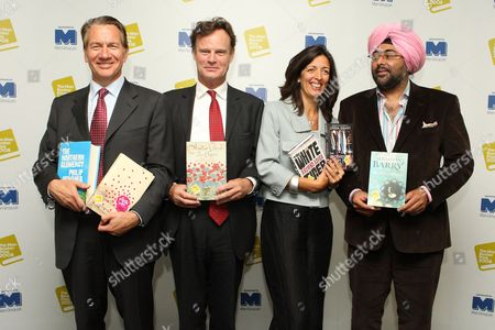 Editorial photo of The Man Booker Prize for Fiction 2008 Shortlist Announcement, London, Britain - 09 Sep 2008