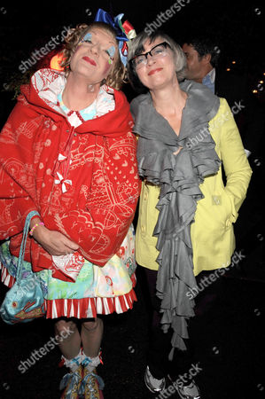 Stock Picture of Grayson Perry and wife Philippa Fairclough