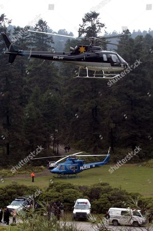 Editorial picture of Mexico Helicopter Crash - Sep 2005