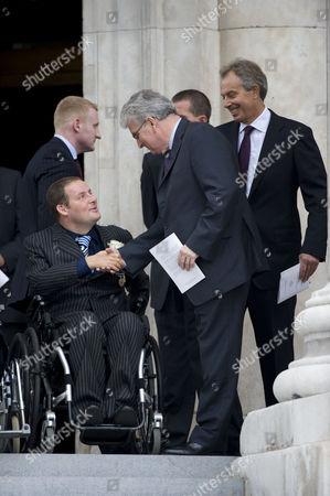 Des Browne and Tony Blair