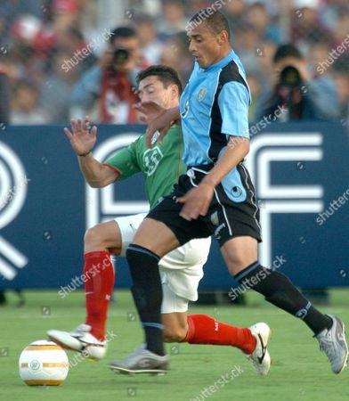 Editorial picture of Peru - Soccer American Cup 2004 - Uruguay Vs Mexico - Jul 2004