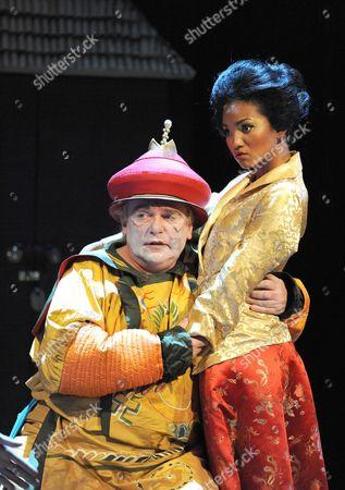Editorial photo of 'Turandot' play at the Hampstead Theatre, London, Britain - 08 Sep 2008