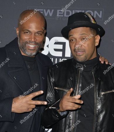 Chris Spencer and Mike Epps