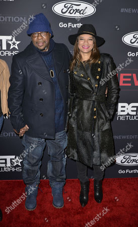 Bobby Brown and Alicia Brown