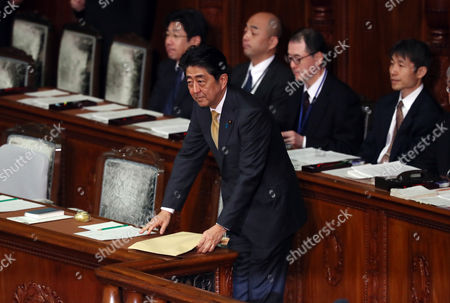 Editorial photo of Plenary session at the National Diet, Tokyo, Japan - 23 Jan 2017