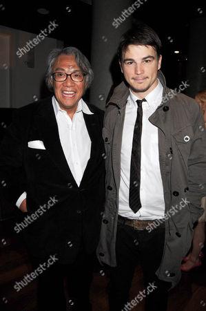 David Tang and Josh Hartnett