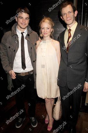 Josh Hartnett, Mary Stockley and Adam Godley