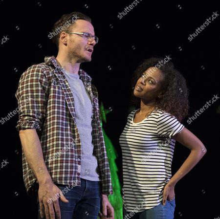 Felix Scott as Richard, Ayesha Antoine as Katie