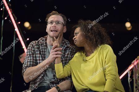 Stock Image of Felix Scott as Richard, Ayesha Antoine as Katie