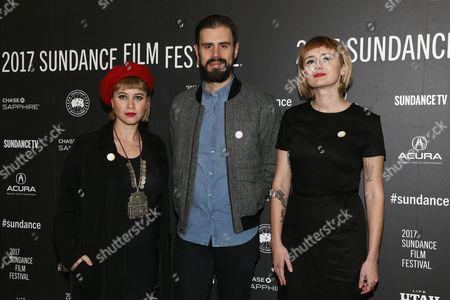 Jess Wolfe, Dan Molad, Holly Laessig