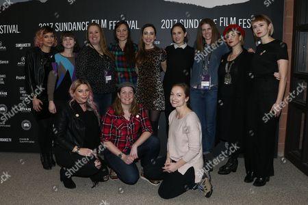 Stock Image of Alison Rosenfelt, Penny Coghlan, Zoe Lister Jones, Jamie Kennedy, Natalia Anderson, Jess Wolfe, Holly Laessig,