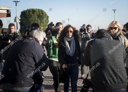 Editorial image of Paying tribute to former model Bimba Bose, Madrid, Spain - 24 Jan 2017