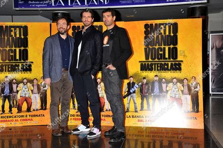 Marco Bonini, Giampaolo Morelli, Rosario Lisma