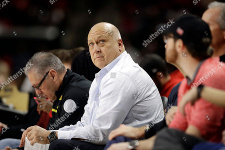 Cal Ripken Jr Former Baltimore Oriole Cal Ripken, Jr., watches the second half of an NCAA college basketball game between Maryland and Rutgers, in College Park, Md