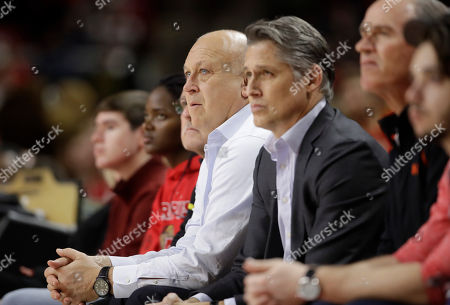 Cal Ripken Jr Former Baltimore Oriole Cal Ripken, Jr., watches an NCAA college basketball game between Maryland and Rutgers, in College Park, Md