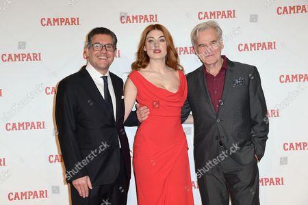 Bob Kunze-Concewitz, CEO of Campari, Caroline Tillette, Tim Ahern