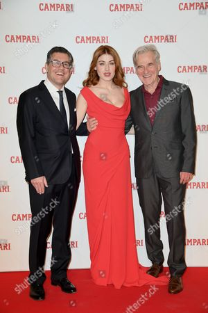 Editorial photo of 'Campari Red Diaries' film photocall, Rome, Italy - 24 Jan 2017