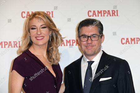 Bob Kunze-Concewitz, CEO of Campari, and Mia Ceran