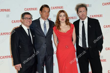 Bob Kunze-Concewitz, Clive Owen, Caroline Tillette and Paolo Sorrentino