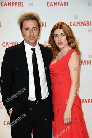 Paolo Sorrentino and Caroline Tillette