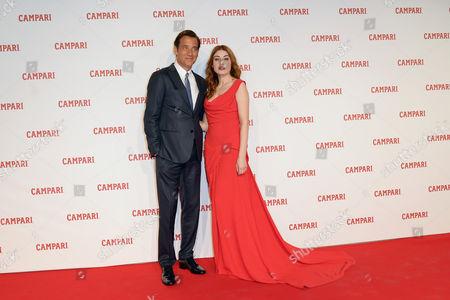 Clive Owen and Caroline Tillette