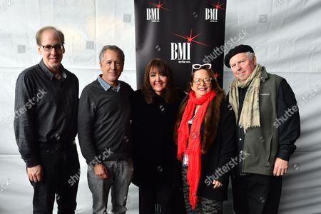 Jeff Beal, Peter Golub, Doreen Ringer-Ross, Laura Karpman and George S. Clinton