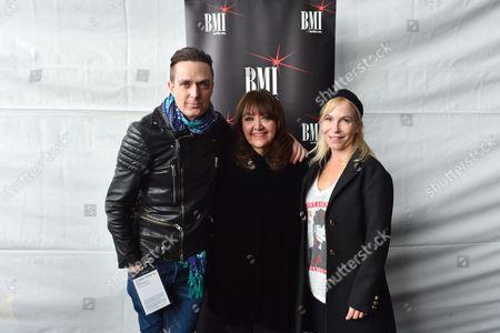 Stock Photo of Fil Eisler, Doreen Ringer-Ross and Marti Noxon