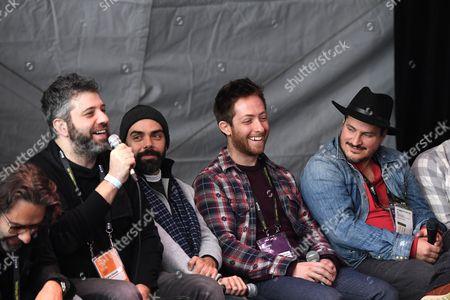 Martin Tillman, Evgeny Afineevsky, Pedro Kos, Matthew Atticus Berger and H. Scott Salinas