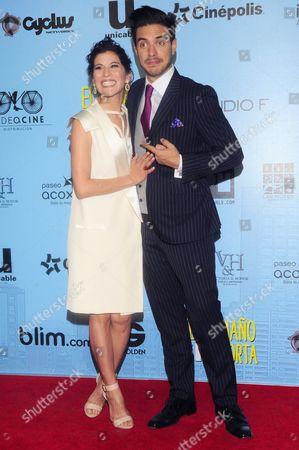 Ximena Ayala and Vadhir Derbez