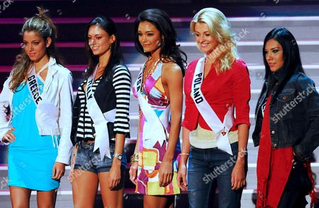 Editorial photo of Mexico Miss Universe 2007 - May 2007