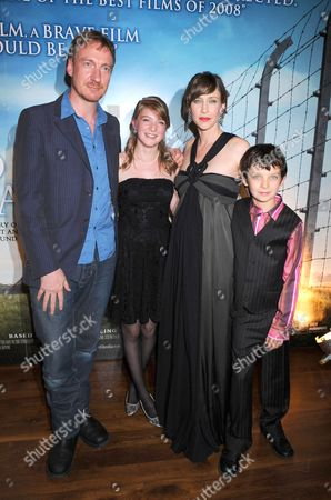 Stock Image of David Thewlis, Amber Beattie, Vera Farmiga and Asa Butterfield