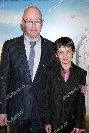John Boyne (author) and Asa Butterfield