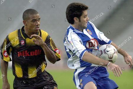 Editorial image of Soccer Soccer Espanyol Vs Real Zaragoza - Nov 2003