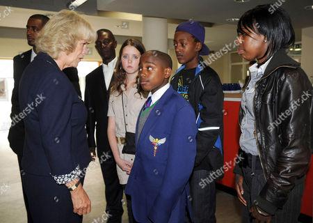 Editorial image of Camilla, Duchess of Cornwall visits the Ebony Horse Club, Brixton, London, Britain - 11 Sep 2008
