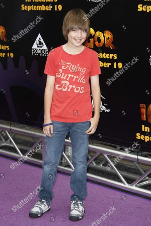 Editorial image of 'Igor' Film Premiere, Los Angeles, America - 13 Sep 2008