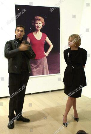 Editorial photo of Spain Guggenheim Exhibition - Oct 2003
