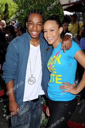 Lil' JJ and Chani Christie