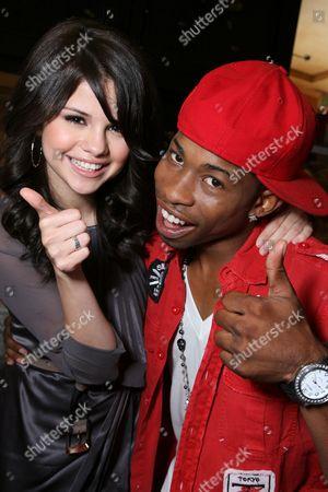 Selena Gomez and Marcus T. Paulk