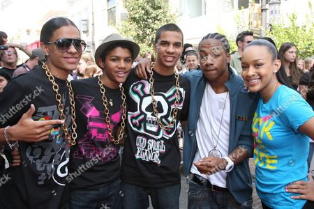Chani Christie and Lil' JJ