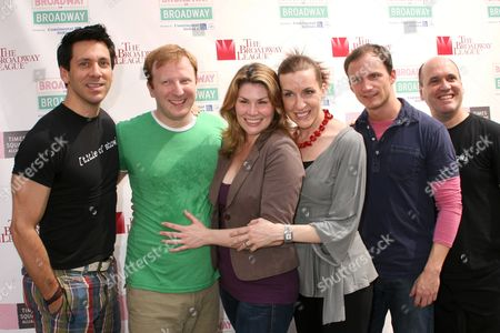 Michael Berresse and the cast of [title of show]