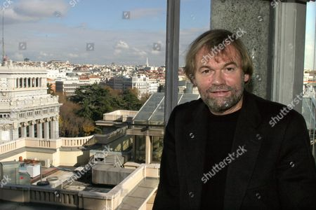 Norwegian Writer Jostein Gaarder Smiles on Wednesday 15 December 2004 at the Circulo De Bellas Artes in Madrid where He Presented a New Collection of His Books by Siruela Publishing House and Celebrated the 10th Anniversary of His Novel 'Sophie's World' That Sold 25 Million Copies and Has Been Translated to 49 Languages Spain Madrid