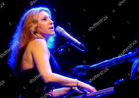 Brazilian Pianist and Singer Eliane Elias During Her Perfomance Late Satuday 2 July 2005 at San Javier?s Jazz International Festival in Murcia where She Introduced Her Last Album 'Dreamer' Spain Murcia