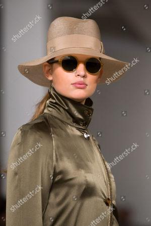 Bette Franke on Runway