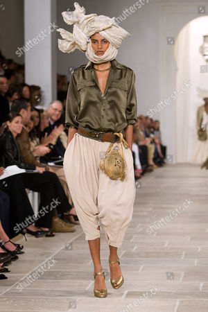 Editorial photo of Ralph Lauren show for Spring / Summer 2009, Mercedes-Benz Fashion Week, New York, America - 12 Sep 2008