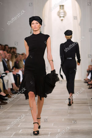 Editorial image of Ralph Lauren show for Spring / Summer 2009, Mercedes-Benz Fashion Week, New York, America - 12 Sep 2008