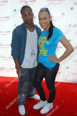 Lil' JJ and Singer Chani Christie