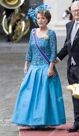 Princess Margriet and Pieter Van Vollenhoven Sohngen